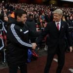arsenal spurs north london derby wenger poch