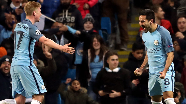 Ilkay Gundogan is expected to take up the mantle in Kevin de Bruyne's absence.