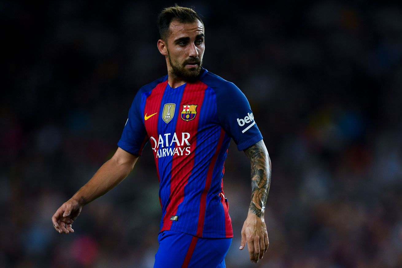 Alcacer doesn't suit the Barcelona philosophy.