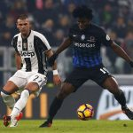 Franck Kessie in action for Atalanta. (Getty Images)
