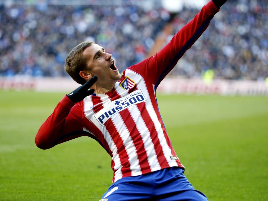 Antoine Griezmann during his time at Atletico Madrid (Getty Images)