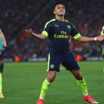 Alexis Sanchez of Arsenal