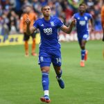 Che Adams celebrates after scoring for Birmingham City. (Getty Images)