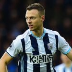 Jonny Evans in action for West Brom. (Getty Images)