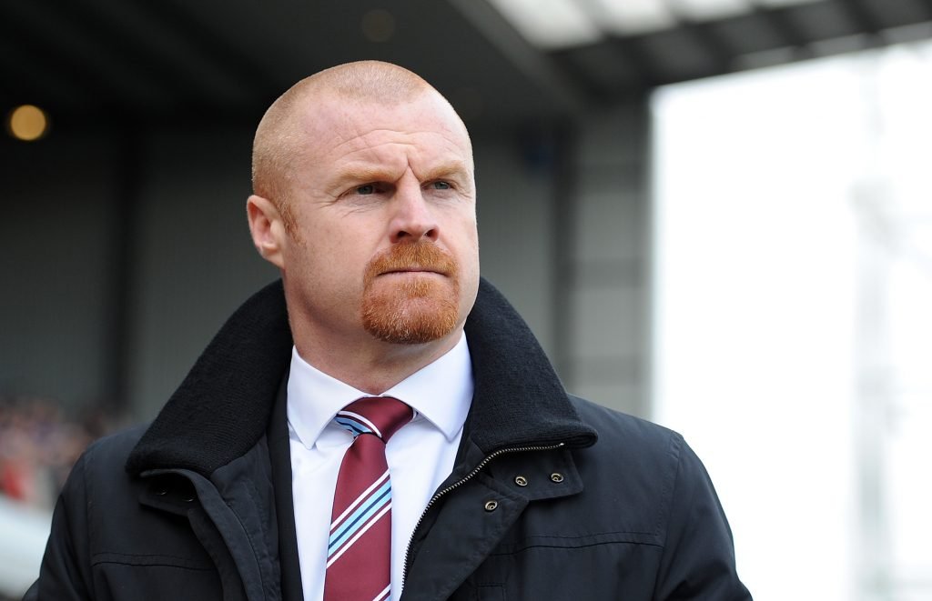 Burnley manager Sean Dyche. (Getty Images)