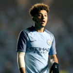 Jadon Sancho during his time at Manchester City. (Getty Images)