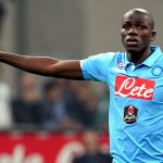 Napoli defender Kalidou Koulibaly in action. (Getty Images)