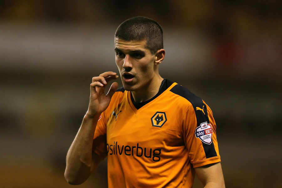 Wolves skipper Conor Coady in action. (Getty Images)