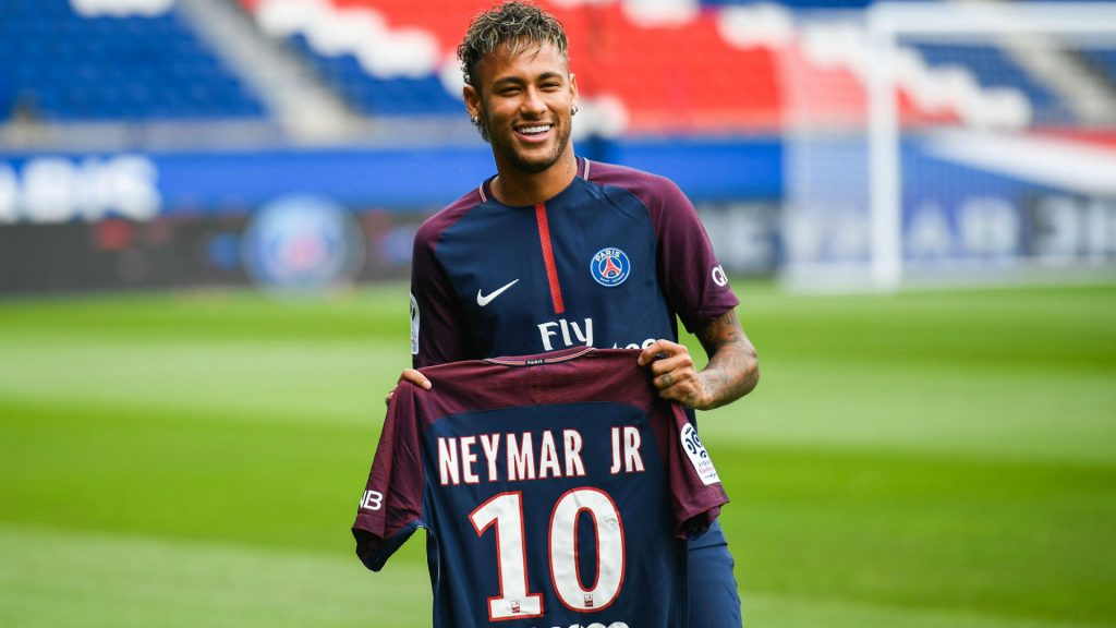 Neymar joined Paris Saint Germain in 2017 from Barcelona (Getty Images)