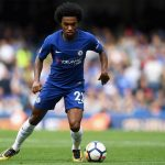 Chelsea's Willian in action. (Getty Images)