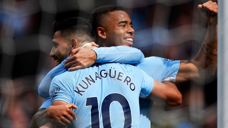 Gabriel Jesus would look to be the replacement for Sergio Aguero at Manchester City.