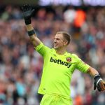 Joe Hart during his time at West Ham