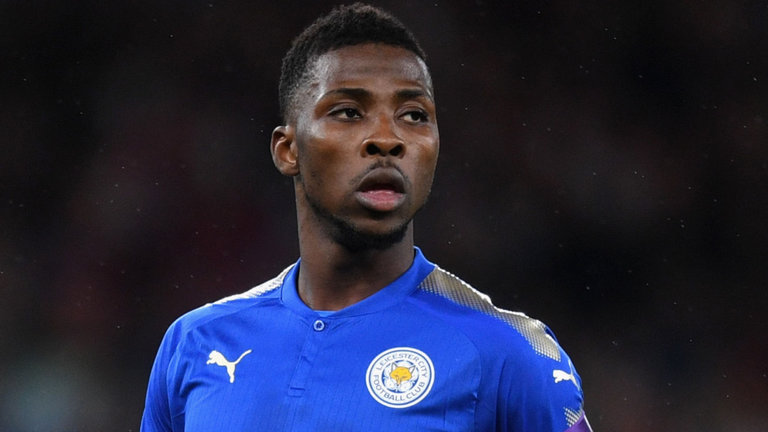 Leicester City forward Kelechi Iheanacho. (Getty Images)