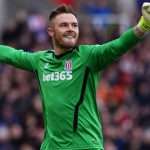 Jack Butland got relegated with Stoke City from the Premier League in 2018. (Getty Images)