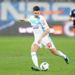 Marseille midfielder Morgan Sanson tries to shoot. (Getty Images)