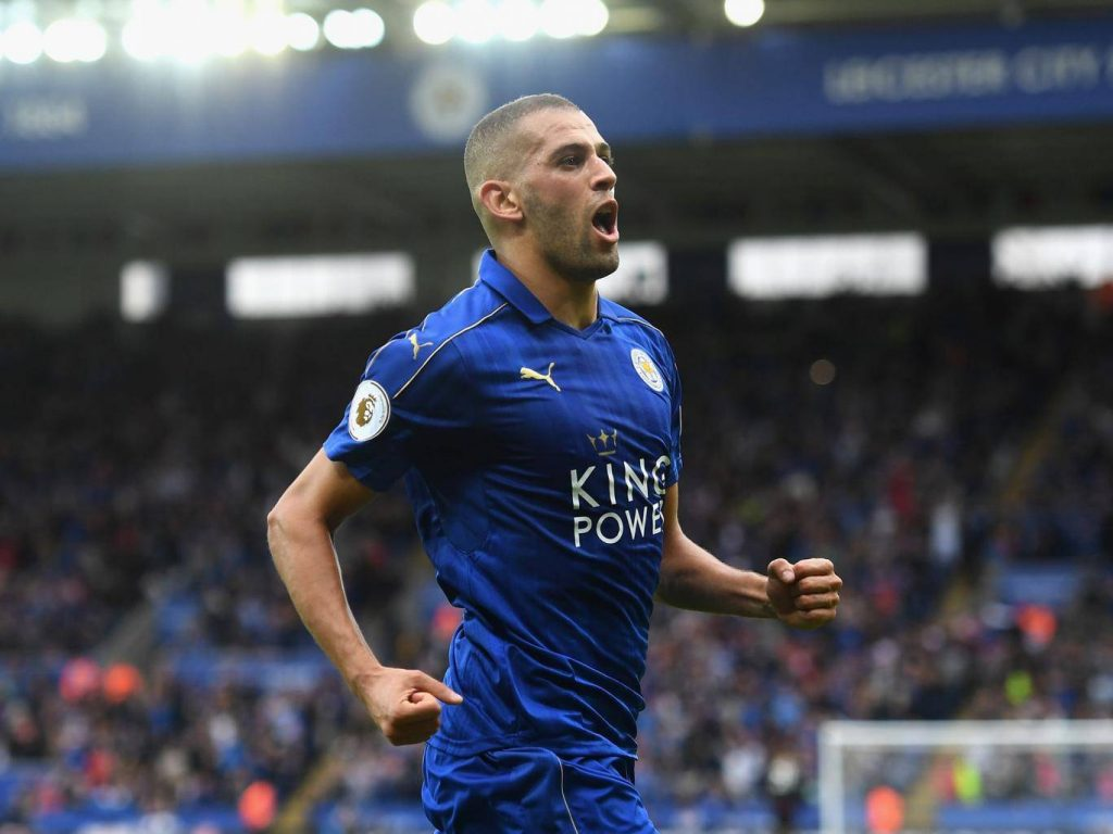 Islam Slimani failed to establish himself a regular at Leicester City. (Getty Images)