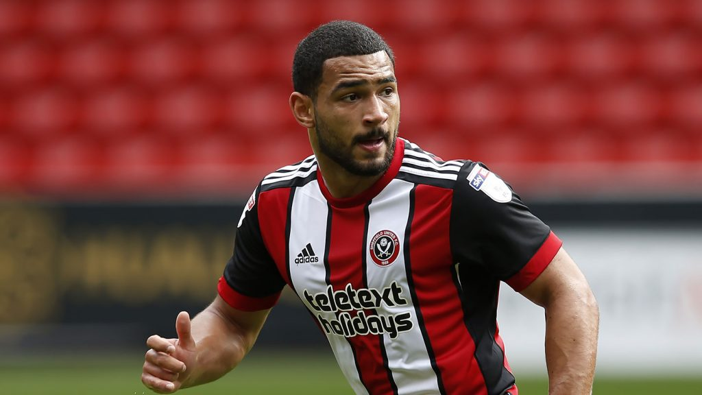 Cameron Carter-Vickers during his loan spell with Sheffield United. (Getty Images)