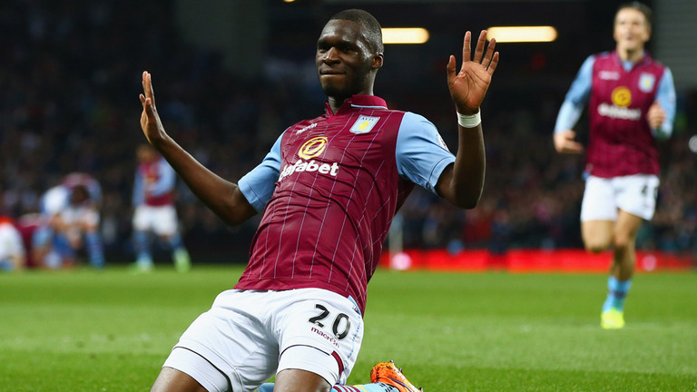 Christian Benteke in his time at Aston Villa (Getty Images)