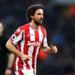 Stoke City midfielder Joe Allen in action. (Getty Images)