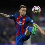 Barcelona midfielder Ivan Rakitic in action. (Getty Images)