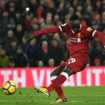Liverpool forward Sadio Mane in action. (Getty Images)