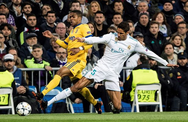 Raphael Varane for Real Madrid. However, he will soon be seen in the famous red jersey
