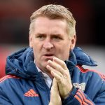 Aston Villa boss Dean Smith. (Getty Images)