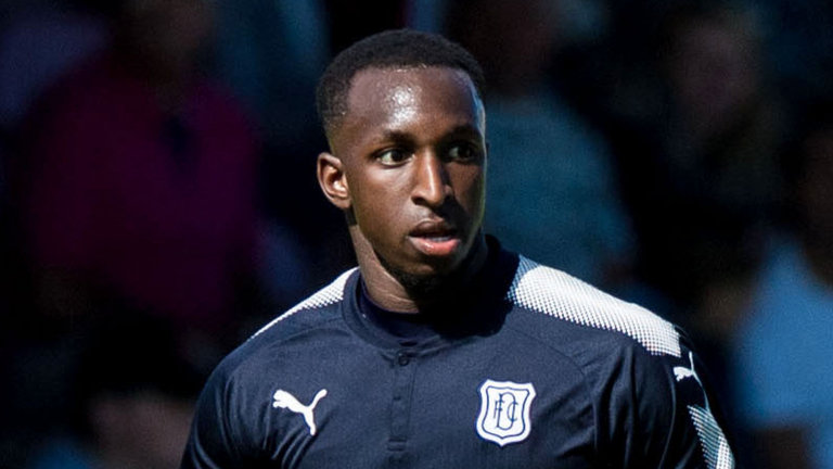 Glen Kamara during his time with Dundee FC