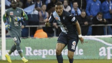 Le Havre defender Harold Moukoudi in action. (Getty Images)