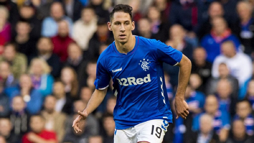 Nikola Katic in action for Rangers. (Getty Images)