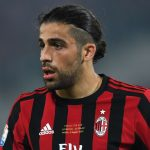 AC Milan left-back Ricardo Rodriguez in action. (Getty Images)
