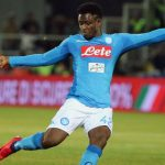 Midfielder Amadou Diawara during his spell at Napoli. (Getty Images)