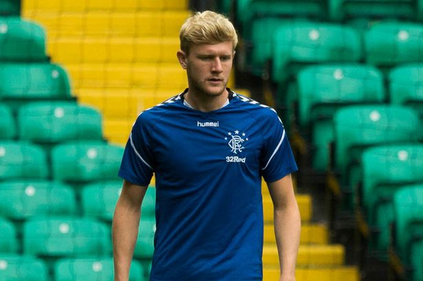 Joe Worrall during his loan spell with Rangers. (Getty Images)