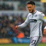 Swansea City midfielder Matt Grimes in action. (Getty Images)