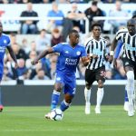 Leicester City midfielder Nampalys Mendy in action against Newcastle. (Getty Images)