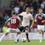 Manchester United's Nemanja Matic in action against Burnley. (Getty Images)