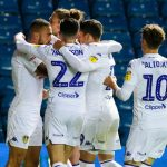 Leeds United players celebrate. (Getty Images)
