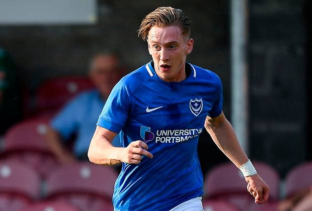 Ronan Curtis joined Portsmouth in 2018