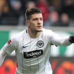 Luka Jovic in Eintracht Frankfurt colours. (Getty Images)