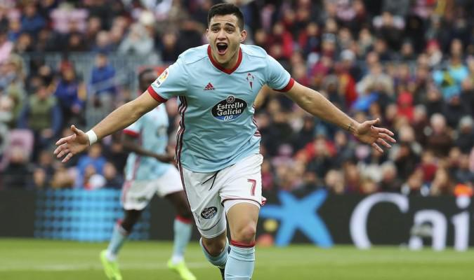 Maxi Gomez during his time at Celta Vigo. (Getty Images)