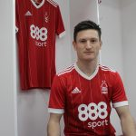 Joe Lolley in the Nottingham Forest dressing room. (Getty Images)