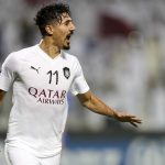 Baghdad Bounedjah in action for Al Sadd. (Getty Images)