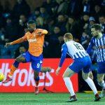 Rangers striker Jermain Defoe in action. (Getty Images)