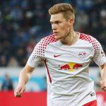 RB Leipzig left-back Marcel Halstenberg in action. (Getty Images)