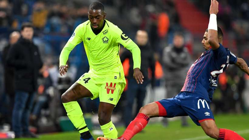Lille's Boubakary Soumare is one of the rising talents of French football. (Getty Images)