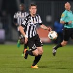 Angers midfielder Baptiste Santamaria in action. (Getty Images)