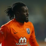 Emmanuel Adebayor during his time with Istanbul Basaksehir. (Getty Images)