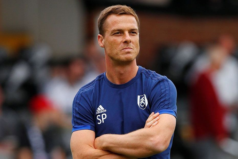 Fulham manager Scott Parker looks on. (Getty Images)