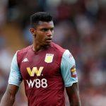 Aston Villa striker Wesley Moraes in action. (Getty Images)