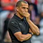 Nottingham Forest manager Sabri Lamouchi on the touchline. (Getty Images)